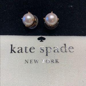 Kate Spade pearl studs